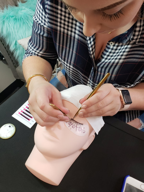 Lash Extensions Training